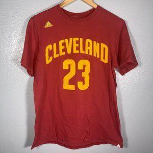 Adidas Cleveland Cavaliers Lebron James Jersey Tee
